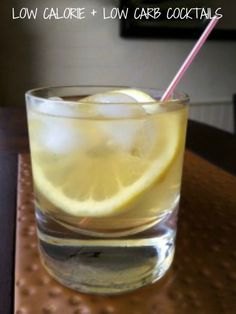 Skinny Whiskey Sour low cal low carb; www.makeoversandmotherhood.com