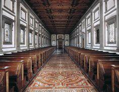 michelangelo / biblioteca laurenziana . firenze (1530)