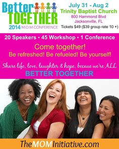 FREE Mom Conference Tickets - Frugal Homeschool Family
