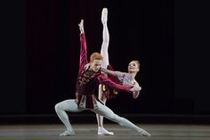 Steven McRae and Sarah Lamb in 'Rubies' from Jewels, The Royal Ballet © ROH/Bill Cooper, 2013