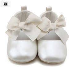 >> Click to Buy << ROMIRUS Baby Girl Spring Leather Sneakers Shoes Children Princess Bowknot Soft Sole Crib Shoes for Newborn Girls Gift #Affiliate