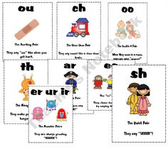 Phonics Cards product from Teaching-is-Colorful on TeachersNotebook.com