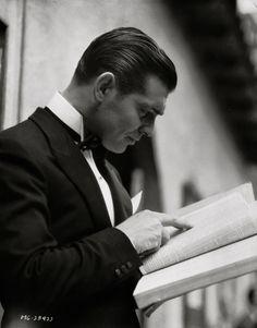 "ricksginjoint: "" Clark Gable (c1933) """