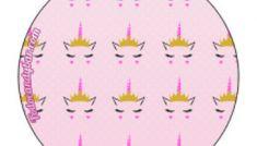 Alfabeto de Unicornios Letras para Descargar Gratis | Todo Candy Bar Cupcake Toppers, Avengers, Birthday Gifts, Bar, Grandchildren, Cupcakes, Unicorn Birthday Parties, Unicorn Birthday, Alphabet
