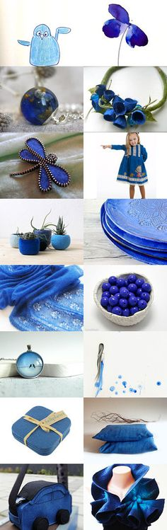 Blue my favorite by Roma Jure on Etsy--Pinned+with+TreasuryPin.com