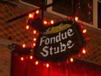 Fondue Stube, Peterson Ave., West Rogers Park area in Chicago. Loved eating here in our college days- Glory Days!