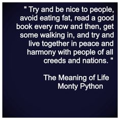 Monty Python: The Meaning of Life Quote