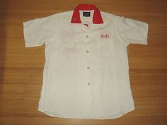Vtg 50s king louie blue loop #collar #bowling shirt #chainstitch rich jim sz 18,  View more on the LINK: http://www.zeppy.io/product/gb/2/262184257829/