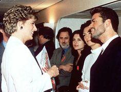 George Michael e Lady Diana