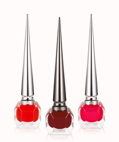 Christian Louboutin is expanding his range of nail polish with three new red shades, just in time for summer 2016.