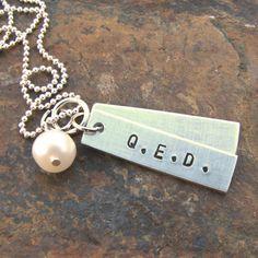 Q.E.D. Necklace