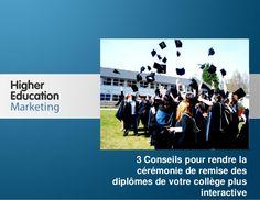 3 conseils pour rendre la cérémonie de remise des diplômes de votre collège plus interactive