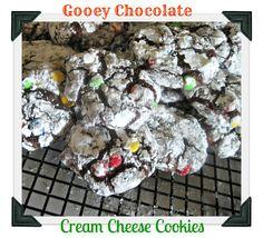 The Better Baker: Gooey Chocolate Cream Cheese Cookies