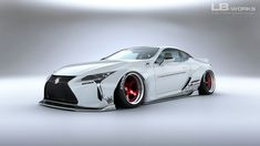 Liberty Walk Lexus LC And we thought the 2018 Lexus LC 500 looked pretty wild in stock form. Liberty Walk offers not just one. Lexus Lfa, Lexus Cars, Jdm Cars, Supercars, Tuning Motor, Automobile, Lamborghini Miura, Liberty Walk, Japan Cars