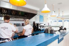 The Creperie by Ed Harrison, via Behance