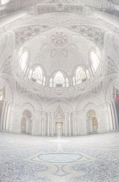 The White Hall of Sammezzano Castle, Toscana, Italy