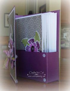 Nevermore Gift Card Box ~ Paper Garden ~ CatScrapbooking.com