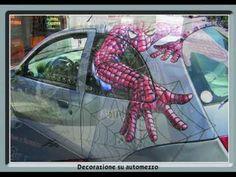 car wrapping decorazione su automezzi