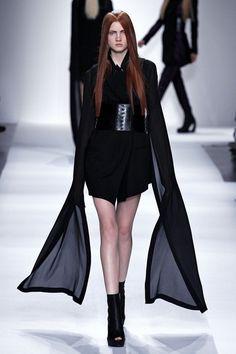 Ann Demeulemeester   Spring 2013 Ready-to-Wear Collection   Anastasia Ivanova
