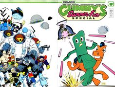 Gumby's Summer Fun Special cover by Art Adams
