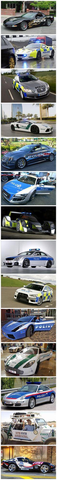 The World's Most Exotic Police Cars