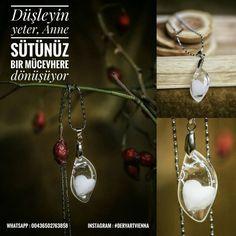 Am Besten Muttermilch Schmuck Selber Machen Abs, Pearl Earrings, Pearls, Jewelry, Instagram, Fashion, Diamond, Jewelry Making, Moda