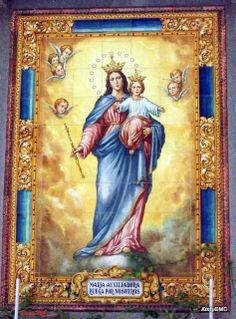 BAÑOS DE LA ENCINA ,TENERIFE Y OTRAS COSAS: HOY 24 DE MAYO DIA DE MARIA AUXILIADORA My Maria, Our Lady, Christianity, Catholic, Roman, Mary, Imagines, Babyshower, Painting