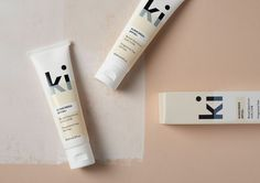 Branding and packaging by Aukland-based studio Akin for New Zealand sunscreen brand Ki