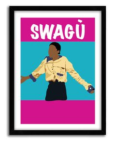 Classic tv poster it 39 s a different world by for Classic housewarming gifts