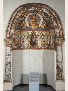 Pintura mural. Monasterio de San Apolo de El Bawit (Egipto)