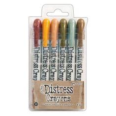 Ranger - Tim Holtz - Distress - Crayons Set #10
