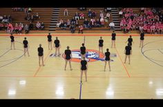 You might expect a high school dance squad to put on routines to pop, hip-hop or rock music. Maybe some electronic music. But the talented team at Mahomet-Seymour High School in Mahomet, Illinois likes to do things a little differently ...