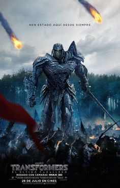 Paramount Pictures and AllSpark Pictures have released a new poster for their upcoming Transformers: The Last Knight movie! Transformers: The Last Knight sta Transformers Film, Transformers Collection, Michael Bay, Mark Wahlberg, Hd Movies, Movies Online, Movie Film, 2017 Movies, Kino News