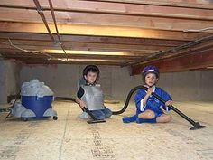 Crawl Space A Limited Area Of Space Under Floor Or In