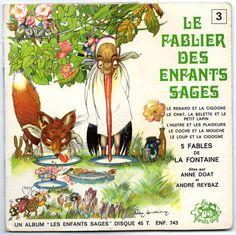 ''Le Fablier des Enfants Sages'', 45rpm. Ill. Felix Lorioux | eBay