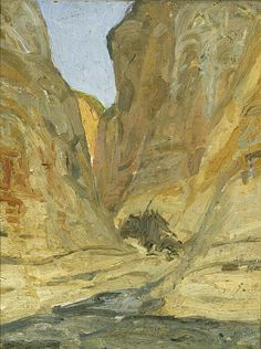 HENRY OSSAWA TANNER The Canyon