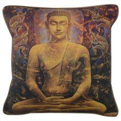 CUSHI   Buddha Dragons Cushion #pillow #cushion #homedecor Cushion Pillow, Cushions, Pillows, Dragons, Buddha, Statue, Amazing, Home Decor, Art