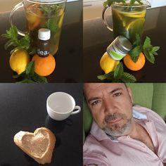 Heite ist Getränke Tag leckeres mit Gesundem in Einklang bringen. Matcha Tee kalt angerührt mit frischer Zitrone und Orangen. Lecker verteilt auf den Tag drinken regt gesund an ohne das Herzechen zum Klopfen zu bringen. Das DEA ist der perfekte Durscht löscher und hilft mir meiner Figur zu Balacieren. Tolle Inhaltstoffe Kurbeln den Stoffwechesel an und machen Fitt. Die kalten Tage verleiten zum Dauerschlaf desshalb auch jetzt genügend Dringen und das noch Lecky jamm mit DEA oder Matcha Tee…