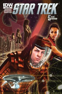 Star Trek FIRST LOOK: IDW's Trek Comics For May