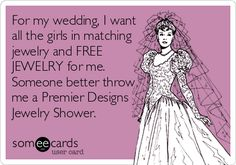 Throw The Bride A Premier Designs Jewelry Shower...OR Throw One For Yourself!
