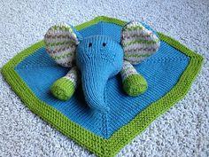 ChristinaPurls...  Baby Pears Blanket Buddy. Inexpensive pattern. Details via my blog or Ravelry. June 2012
