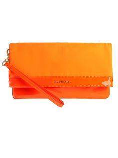 Givenchy orange purse