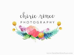 Custom Watercolor Logo and Art for Business by ladypoppins on Etsy