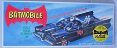 DC Comics Batman Batmobile plastic Model kit MIB Polar Lights Aurora re-issue TV…