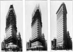 Flatiron Building Construction, New York Times - Library of Congress, 1901-1902…
