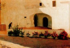 Entrada al Vinyet, 1892 - Santiago Rusinol- Impresionismo