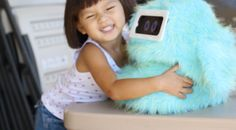Romibo is one of the cutest home robots ever. It was invented to help children with autism practice communication.