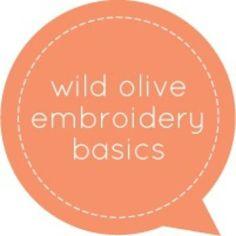 Embroidery Basics {Beginner}