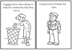 FREEBIE! Label Good Citizens: Kindergarten & First Grade