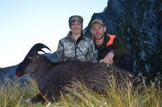 """Check out Prois Posse Member and all around good buddy, Kerribeth Bahr and her New Zealand Tahr! BAM! #proiswasthere, #tahr, #prois  To view the entire line of Prois Hunting & Field Apparel for Women, visit www.proishunting.com! OH! And come on by and """"LIKE"""" our facebook page   https://www.facebook.com/pages/Prois-Hunting-Field-Apparel-for-Women/110925409020195?fref=ts"""